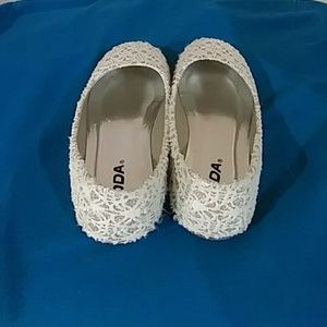 Soda Shoes - SCOLY IIS GOLD/CREAM GIRL SHOES